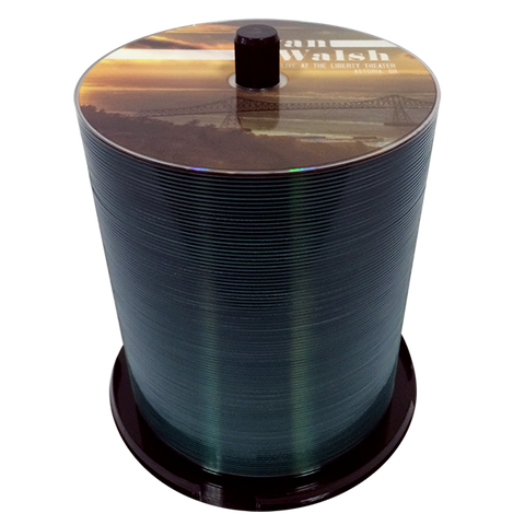 DVD Bulk DVD-9 Capacity: 8.5GB