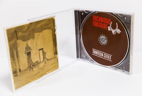 CD Jewel Case with 8 Page Stapled Booklet