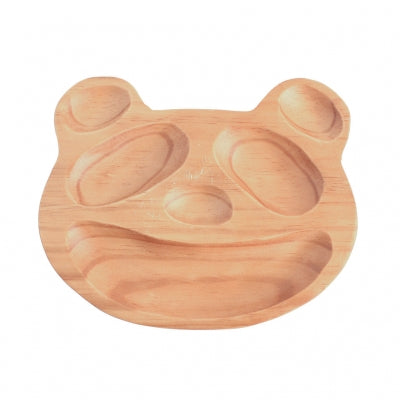 Pine Wood Panda Plate {Little Kid}