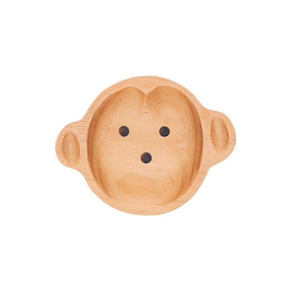 Pine Wood Monkey Plate {Little Kid}