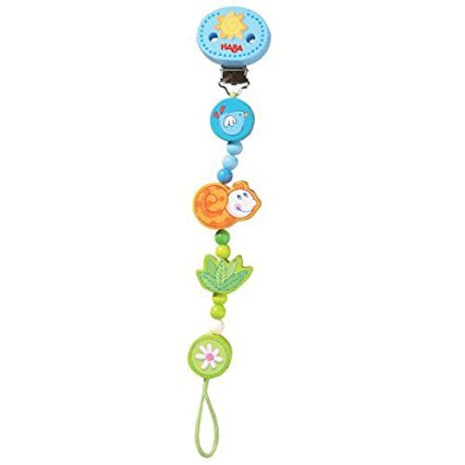 forest friends pacifier/toy chain {blue}