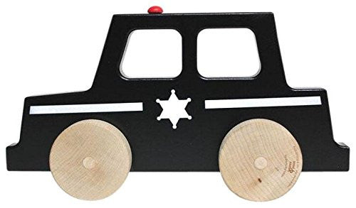 police car push toy