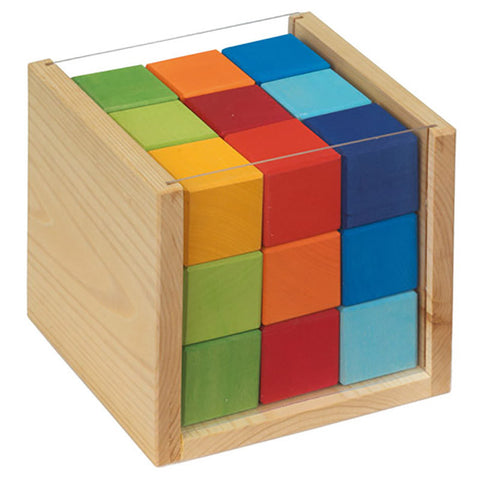 colored cube blocks