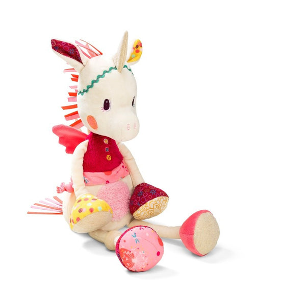 unicorn plush musical night light