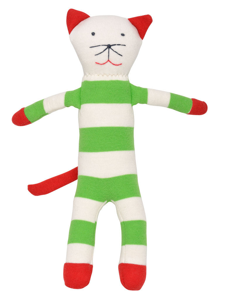 organic plush Christmas kitty-cat