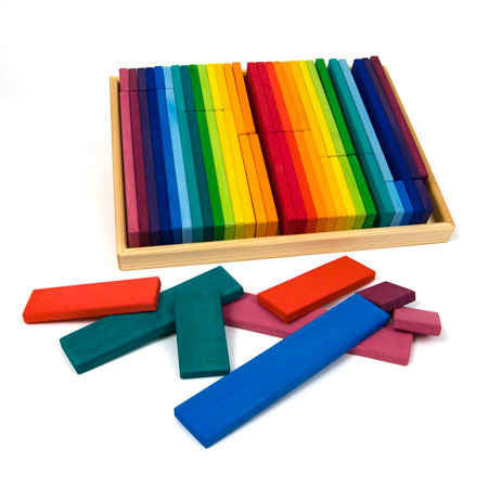 rainbow building blocks box