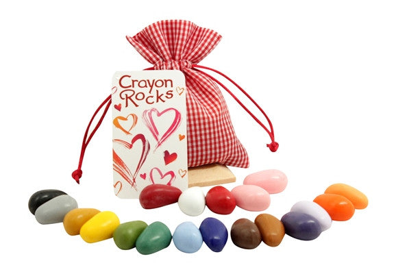 crayon rocks set of 20 {gingham}