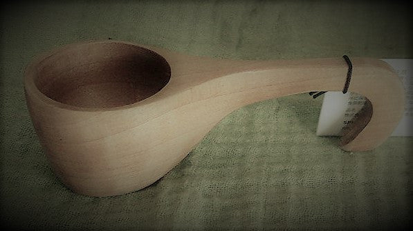 Birch Wood Scoop