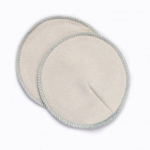 contoured breastfeeding/nursing pads - hemp/cotton blend