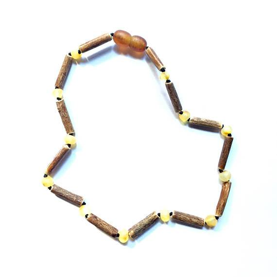 Hazelwood + Raw Amber Necklace {child's}