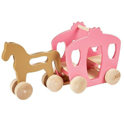 horse and carriage play set