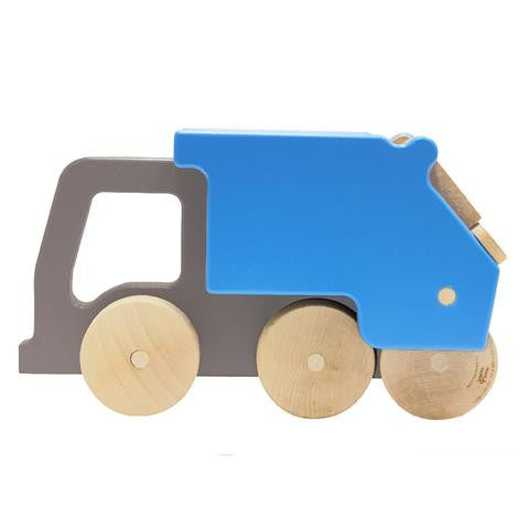 recycling truck push toy