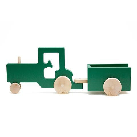 tractor and trailer play set