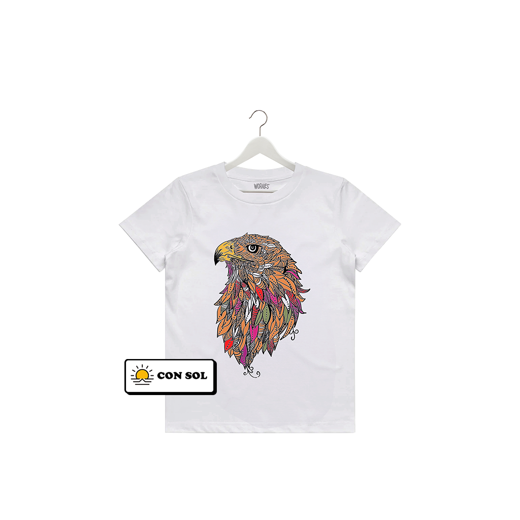 Playera que cambia de color Águila Kids