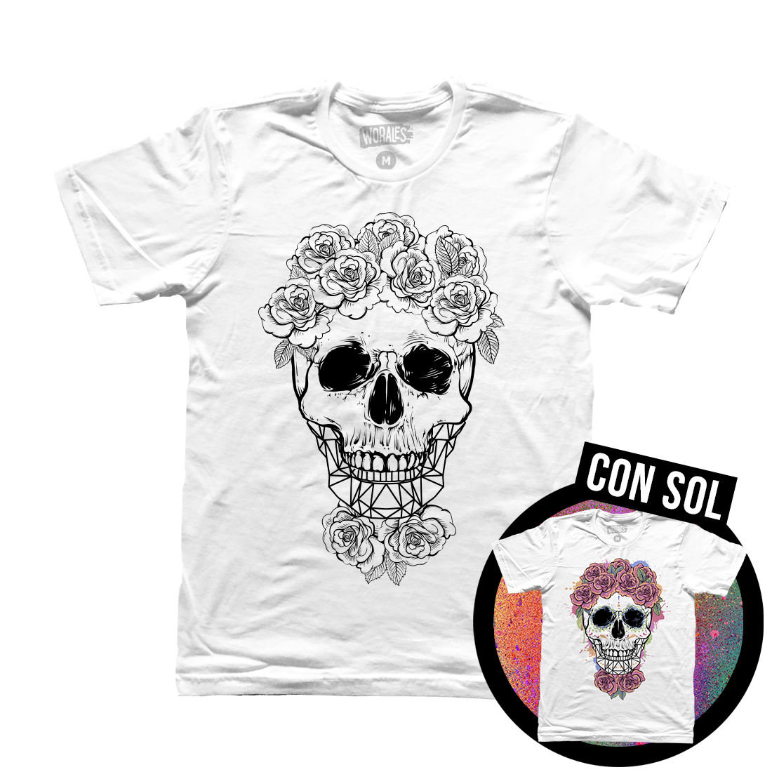 Playera que cambia de color Catrina Kids