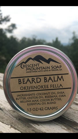 Okefenokee Fella Beard Balm and Beard Oil