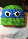 Ninja Turtle Crochet Hat