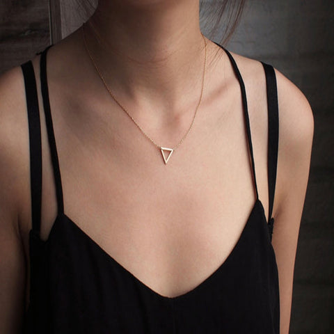 Adorable Triangle Necklace