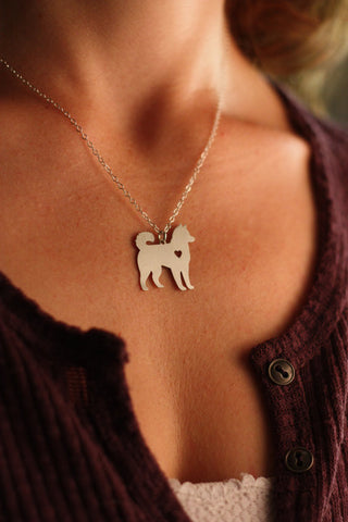 Cute Husky Necklace