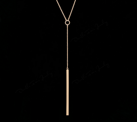 FREE Anti Allergy Rose Gold Y-Style Necklace - Just Pay Shipping!