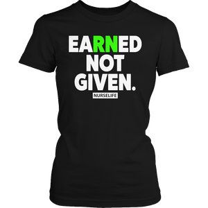 Limited Edition - Earned Not Given - Opertime