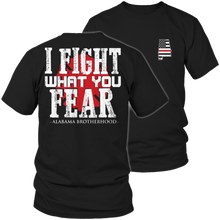 Limited Edition Firefighters - I fight what you fear Alabama Brotherhood - Opertime