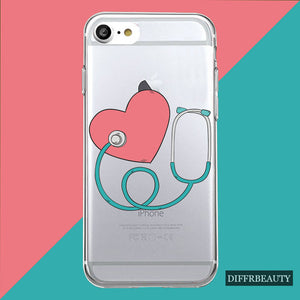 Popular Heart Beat and Heart of Health Care Phone Cases for Nurses and Medical Professionals - Opertime