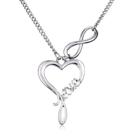 Love Jesus Forever Necklace