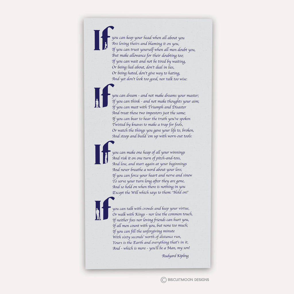 picture relating to If by Rudyard Kipling Printable identified as Rudyard Kiplings \