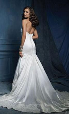 Alfred Angelo 866 - Jordan's Modern Bride and Groom
