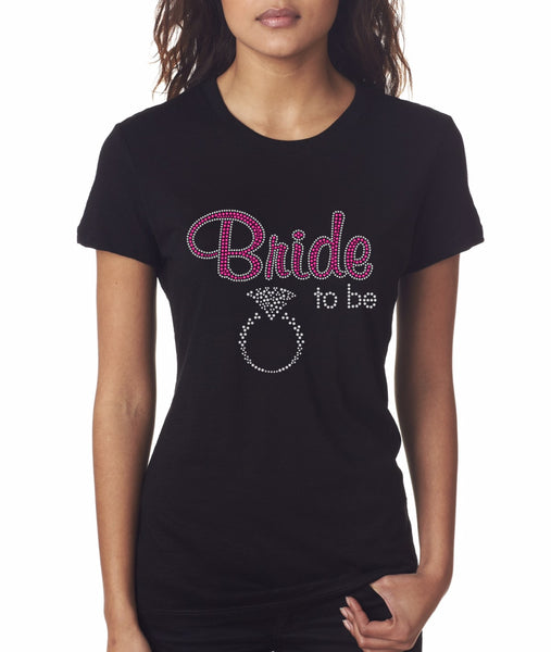 """Bride-To-Be"" T-Shirt"