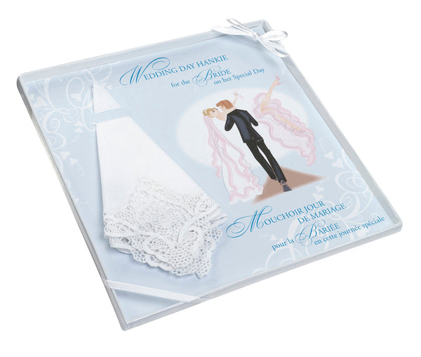 Bride Hankie by Lillian Rose - Jordan's Modern Bride and Groom