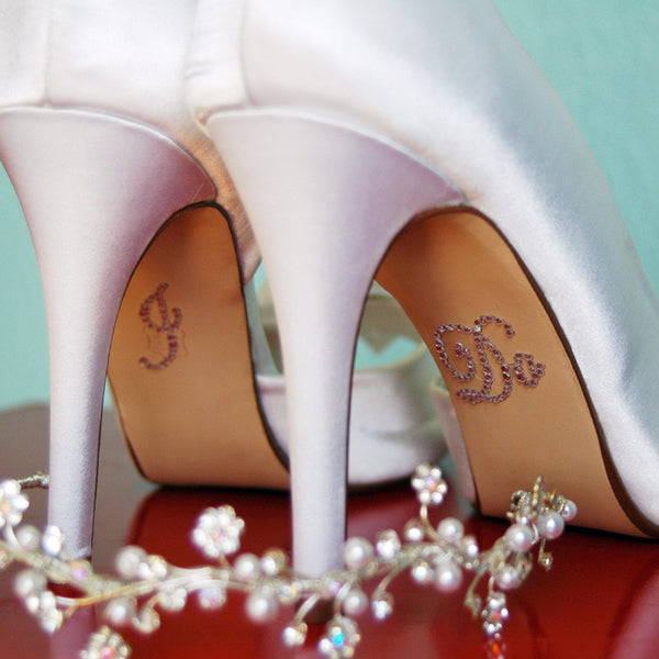 I Do Shoe Stickers - Jordan's Modern Bride and Groom