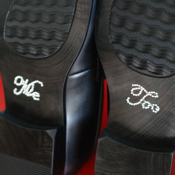 Me Too Shoe Stickers - Jordan's Modern Bride and Groom
