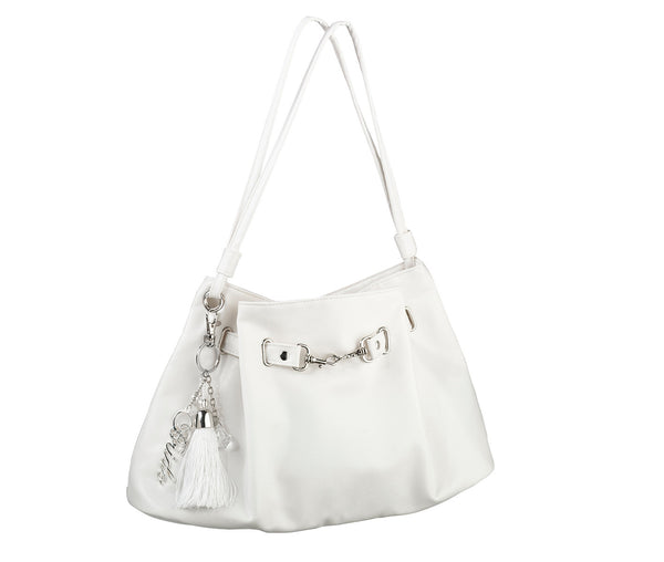 Large Off-White Bride Purse by Lillian Rose