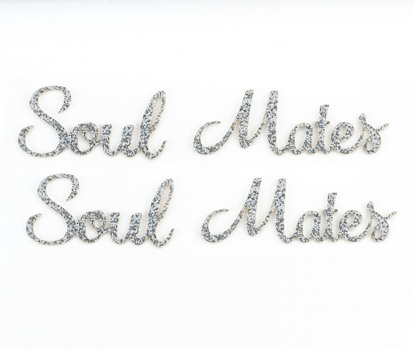 """Soul Mates"" Shoe Sticker Set by Lillian Rose - Jordan's Modern Bride and Groom"