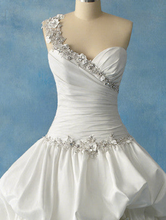 Alfred Angelo 204 - Jordan's Modern Bride and Groom