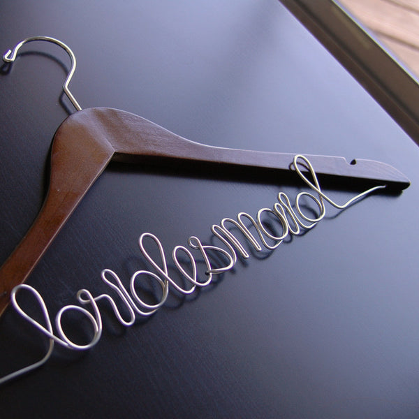Bridesmaid Hanger - Jordan's Modern Bride and Groom