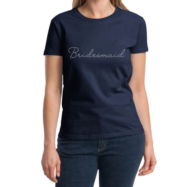"""Bridesmaid"" T-Shirt - Jordan's Modern Bride and Groom"