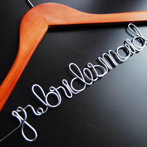 Junior Bridesmaid Hanger