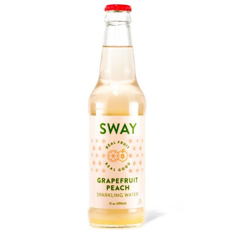 Grapefruit Peach Sparkling Water - 8 pack