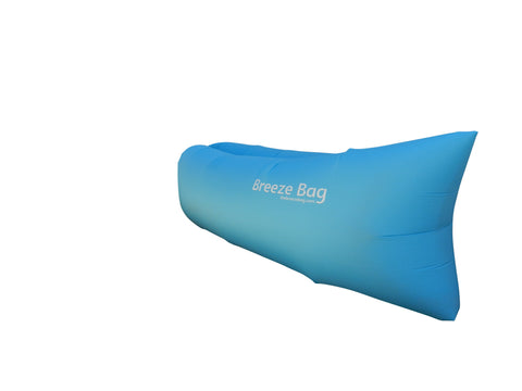 Blue - Inflatable Lounger by Breeze Bag