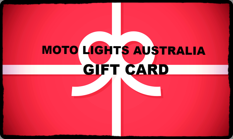 MOTO LIGHTS AUSTRALIA - GIFT CARD