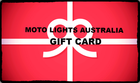 Moto Lights Australia                               Gift Card - Moto Lights Australia