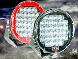 "9"" Driving/Spot-Lights 185W (370W Pair) - Moto Lights Australia"