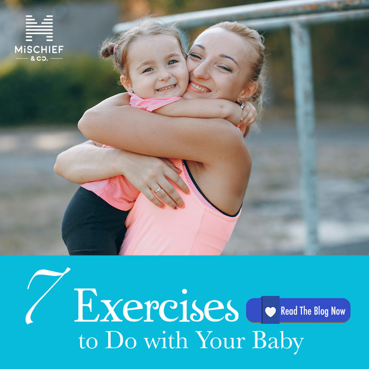 7 Exercises to Do with Your Baby