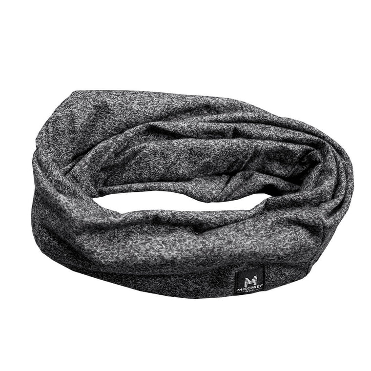 The Loop - Scarf Slouchy Beanie - Dark Grey