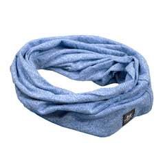The Loop - Scarf Slouchy Beanie - Blue