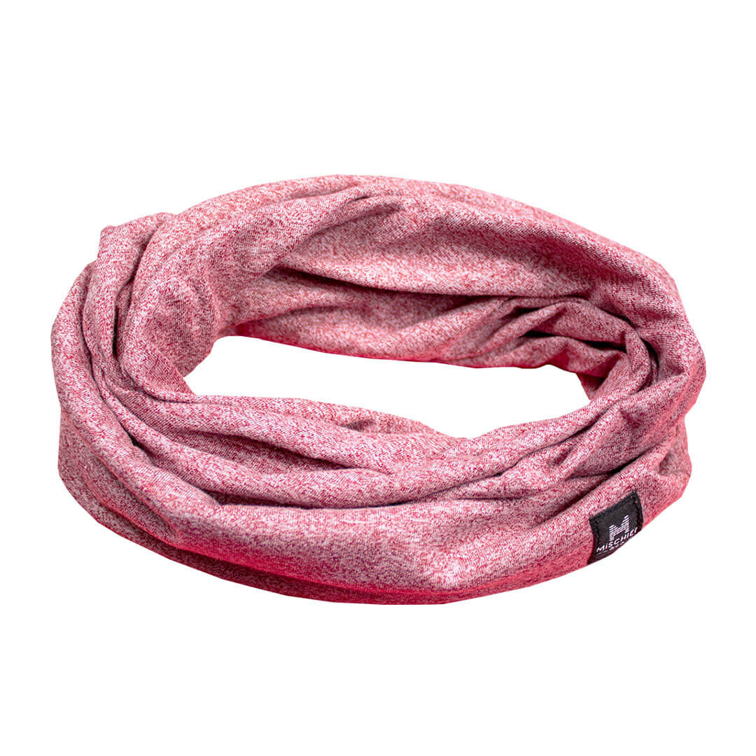 The Loop - Scarf Slouchy Beanie - Red