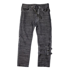 The M-502 - Ultra Soft Straps Denim Pants